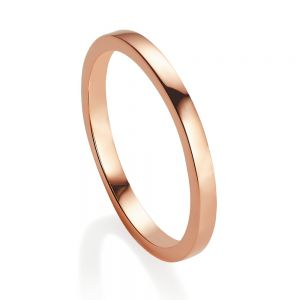 Jersey Pearl VIVA Stacking Ring, Rose-Gold