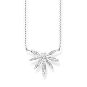 Thomas Sabo Silver Leaf Necklace