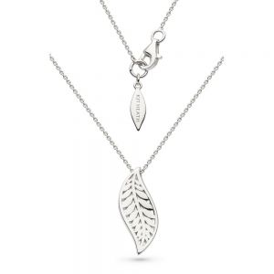 Kit Heath Blossom Eden Leaf Necklace