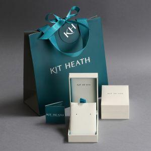 Kit Heath Blossom Eden Wrapped Leaf Stud Earrings 40247