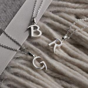 Kit Heath Signature Classic Initial Necklace - K