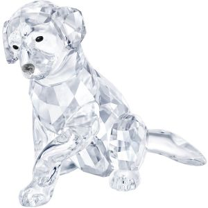 Swarovski Crystal Mother Labrador