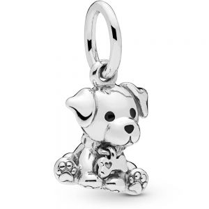 Pandora Labrador Puppy Dog Dangle Charm - 798009EN16