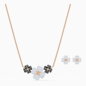 Swarovski Latisha Set, Rose Gold Plating