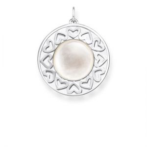Thomas Sabo 'Hearts' Pendant, Mother of Pearl