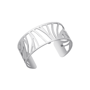 Les Georgettes Perroquet 25mm Silver Finish Bangle