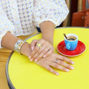 Les Georgettes Mehen Bracelet - 25mm Gold Finish 70355720100000