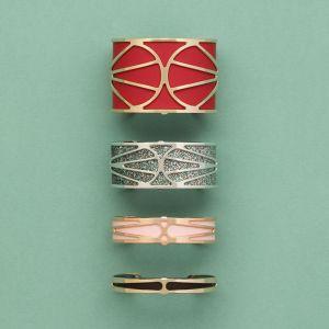 Les Georgettes Garden Bracelet - 8mm Gold Finish