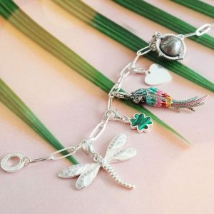 Thomas Sabo Charm Bracelet, Silver, Long Link
