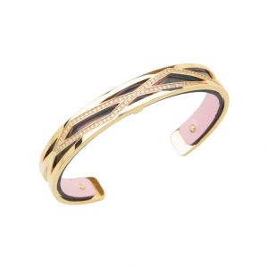 Les Georgettes Liens 8mm Gold Finish Bangle 70327410108000