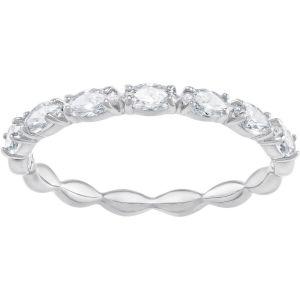 Swarovski Vittore Marquise Ring, White, Rhodium Plating 5366577, 5354786