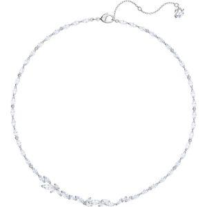 Swarovski Louison Necklace, White, Rhodium Plating 5419235