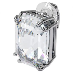 Swarovski Mesmera Single Earring Trilliant Cut - White with Rhodium Plating