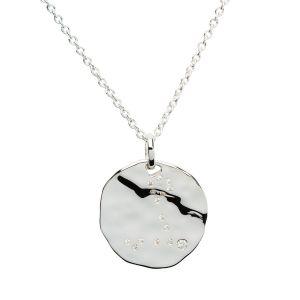 Unique & Co Zodiac Constellation Pendant - Capricorn in Silver MK-615