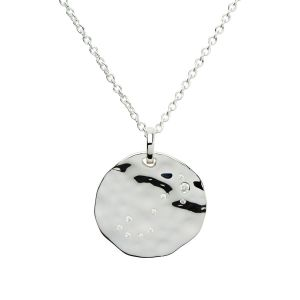 Unique & Co Zodiac Constellation Pendant - Libra in Silver MK-624