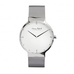Bering Men's Max Rene Stainless Steel Mesh Strap Watch