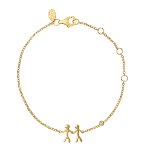 byBiehl Together My Love Gold Bracelet 