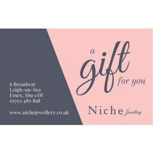 Niche Jewellery In Store Gift Voucher £100