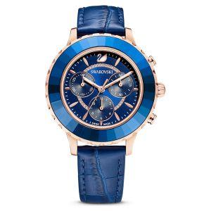 Swarovski Octea Lux Chrono watch - Blue 5563480