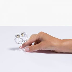 Swarovski Crystal Owl Couple