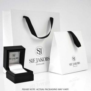 Sif Jakobs Cetara Pianura Ring, sterling silver