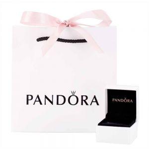 Pandora Purple Solitaire Huggie Hoop Earrings-289304C01