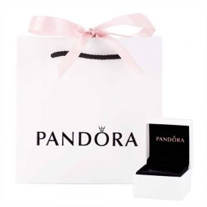 Pandora Moments Heart Clasp Bangle-596268-17, 596268-19, 596268-21