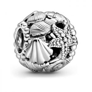 Pandora Openwork Starfish, Shells and Hearts Charm 798950C00