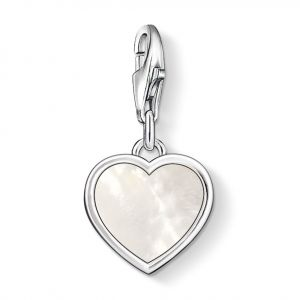 Thomas Sabo Charm Pendant, Mother-of-Pearl-Heart