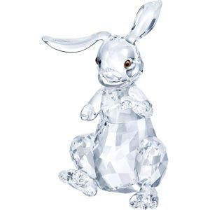 Swarovski Crystal Clear Rabbit