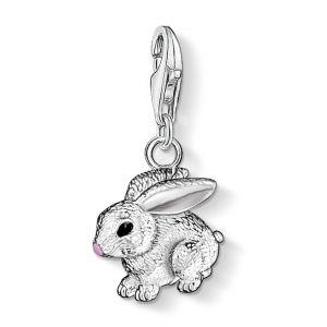 Thomas Sabo Charm Pendant, Silver Rabbit