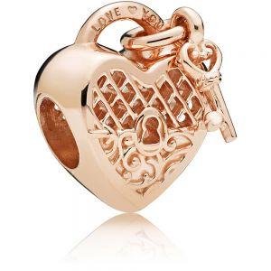 Pandora Rose Love You Heart Padlock Charm – 787655