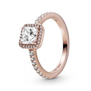 Pandora Rose Square Sparkle Halo Ring - 188862C01