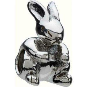 Chamilia Rabbit Bracelet Charm - Sterling Silver
