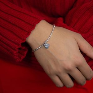 Annie Haak Santeenie Silver Charm Bracelet - You & Me