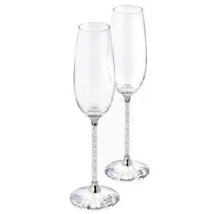 Swarovski Crystalline Toasting Flutes - Set of 2