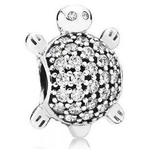 Pandora Pavé Sea Turtle Charm - 791538CZ