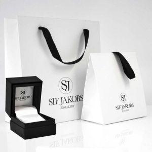 Sif Jakobs Zodiaco Virgo Pendant, silver with white zirconia