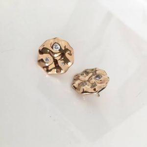 Sif Jakobs Earrings Acerra  SJ-E0020-CZ(YG)