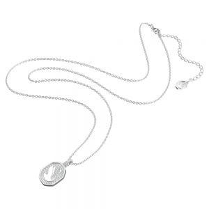 Swarovski Signum Pendant Swan - White with Rhodium Plating 5621098