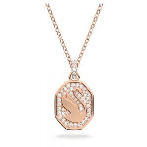 Swarovski Signum Pendant - Rose Gold Plated 5621106