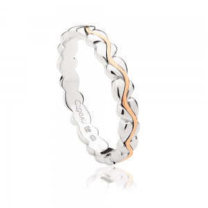 Clogau Life Affinity Stacking Ring SILSR