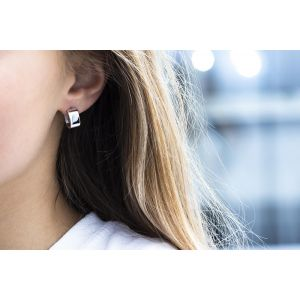 Sif Jakobs Matera Pianura Earrings - Silver