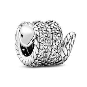Pandora Sparkling Wrapped Snake Charm - 799099C01