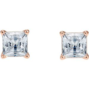 Swarovski Attract Pierced Stud, White, Rose Gold Plating 5509935