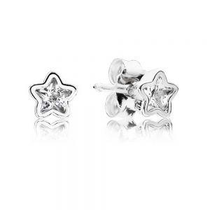 Pandora Sparkling Star Stud Earings-290597cz