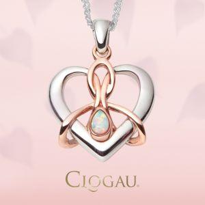 Clogau Dwynwen Opal Pendant