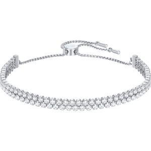 Swarovski Subtle Bracelet, White, Rhodium Plating 5221397