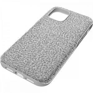 Swarovski High Smartphone Case - iPhone 12 Pro Max - Silver 5616368