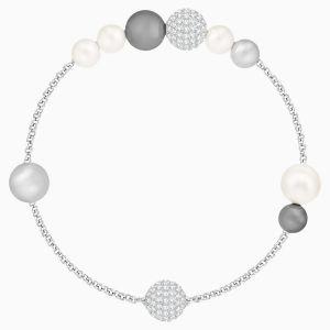 Swarovski Remix Collection Pearl Strand - Grey